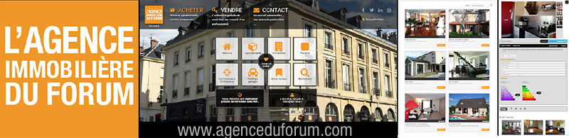 Agence Immobilière du Forum - agenceduforum.com